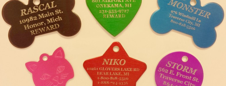 Overnight Pet Tags