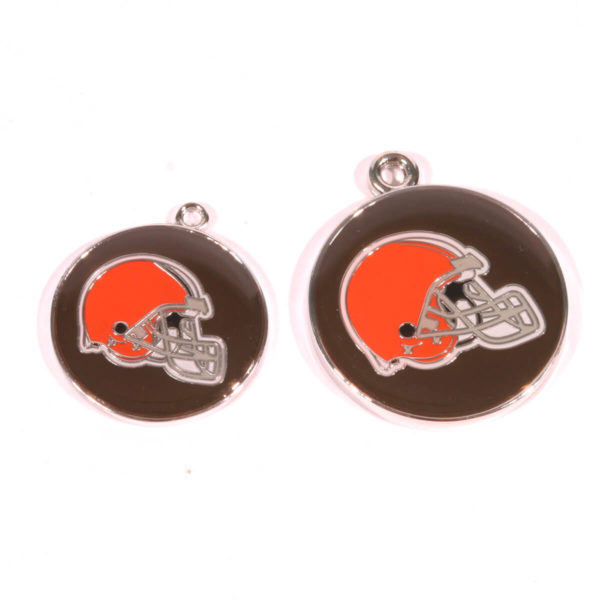Cleveland Browns pet tags