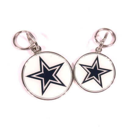 Dallas Cowboys Pet ID Tag