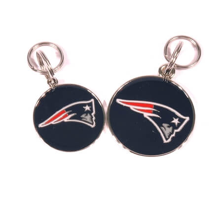 New England Patriots Pet Tag