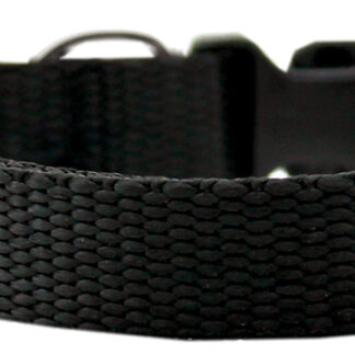 Black Nylon Collar - Adjustable
